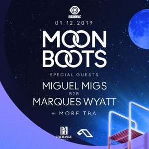Moon Boots, Miguel Migs, Marques Wyatt at Exchange LA