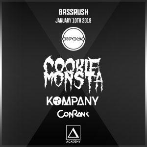 Bassrush presents Cookie Monsta at Academy LA