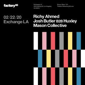 Factory 93 presents Richy Ahmed at Exchange LA