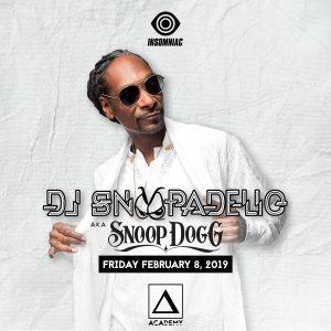 Snoop Dogg at Academy LA