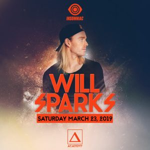 Will Sparks at Academy LA