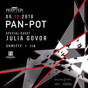 Pan-Pot, Julia Gover, Shmitty b2b JIA at Exchange LA
