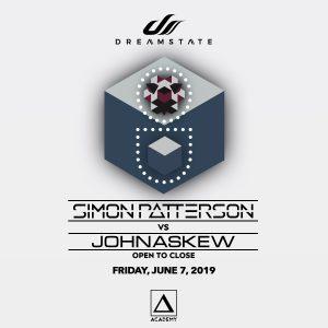 Dreamstate presents Simon Patterson & John Askew at Academy LA