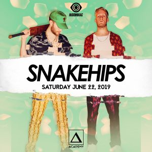 Snakehips at Academy LA