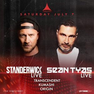 Standerwick, Sean Tyas at Avalon Hollywood - July 7, 2018