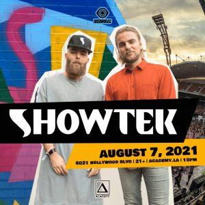 Showtek at Academy LA - August 7 2021