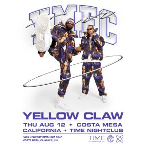 Yellow Claw at Time Nightclub - August 12, 2021