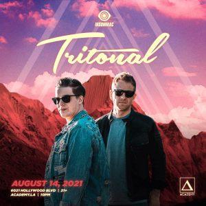 Tritonal at Academy LA - August 14 2021
