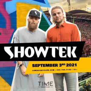 Showtek at Time Nightclub - September 3, 2021
