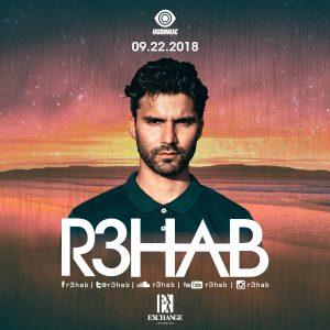 R3hab at Exchange LA