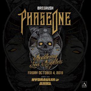 Bassrush presents Phase One at Academy LA