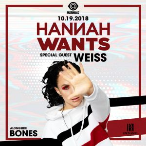 Hannah Wants w/ Weiss at Exchange LA