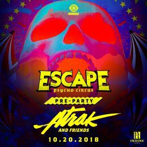 Escape Pre-Party with A-Trak at Exchange LA