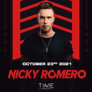 Nicky Romero at Time Nightclub - October 23, 2021