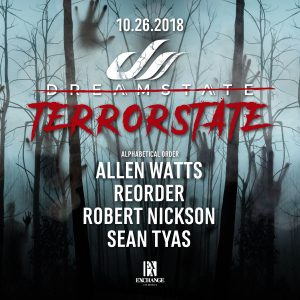 Dreamstate presents Terrorstate at Exchange LA