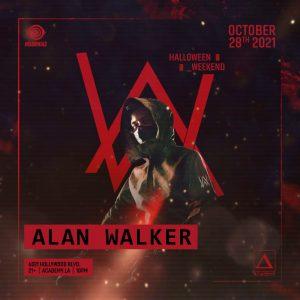 Alan Walker at Academy LA - October 28 2021