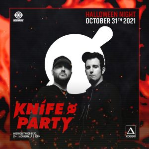 Knife Party at Academy LA - October 31 2021