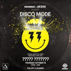 Hysteria presents Disco Mode