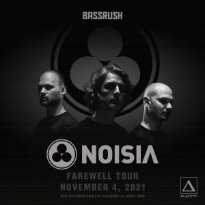 Bassrush presents Noisia at Academy LA - November 4 2021