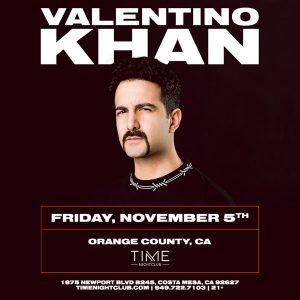 Valentino Khan at Time Nightclub - November 5 2021