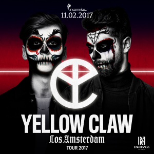 Yellow Claw at Exchange LA - November 2, 2017