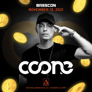 Basscon presents Coone at Academy LA - November 13 2021
