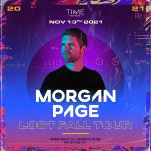 Morgan Page at Time Nightclub - November 13, 2021