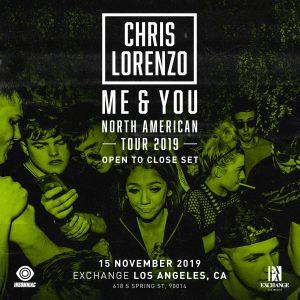 Chris Lorenzo at Exchange LA