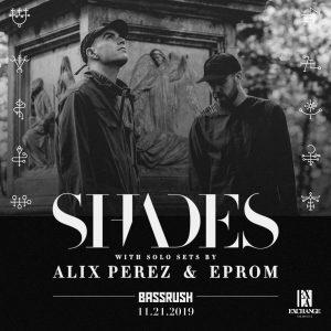 Bassrush presents Shades at Exchange LA