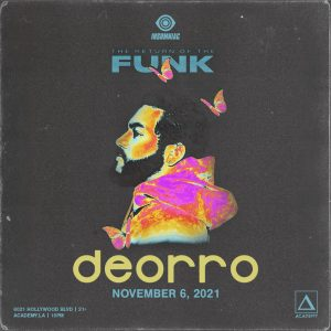 Deorro at Academy LA - November 6 2021