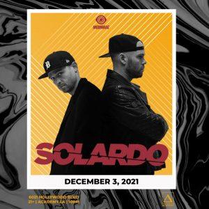 Solardo at Academy LA - December 3 2021