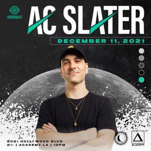 AC Slater at Academy LA - December 11 2021