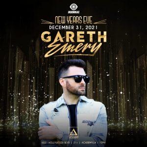 Gareth Emery at Academy LA - December 31 2021