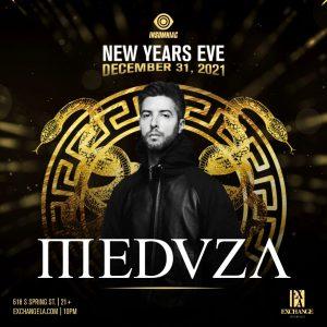 Medvza at Exchange LA - December 31 2021