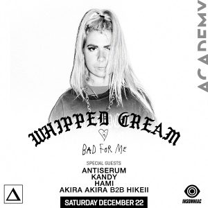 Whipped Cream at Academy LA