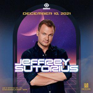 Jeffrey Sutorius at Exchange LA - December 10 2021
