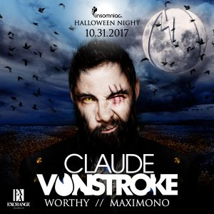 Claude VonStroke with Worthy & Maximono at Exchange LA