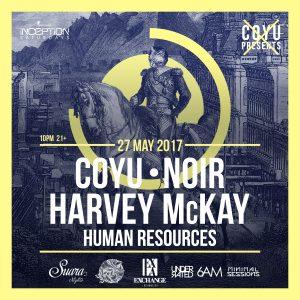 Coyu, Noir, Harvey McKay at Exchange LA (Tickets & Guestlist)