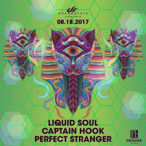 Liquid Soul, Captain Hook, Perfect Stranger at Exchange LA