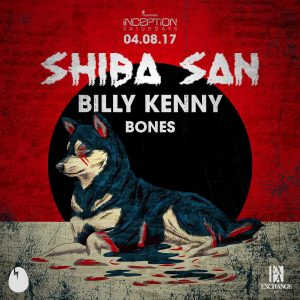 Shiba San, Billy Kenny, and Bones at Exchange LA