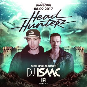 Headhunterz with DJ Isaac at Exchange LA