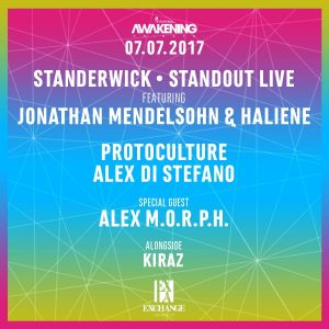 Standerwick, Protocullture, Alex Di Stefano, Alex Morph at Exchange LA