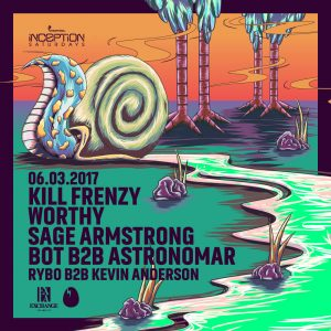 Kill Frenzy, Worthy, Sage Armstrong, BOT & Astronomar at Exchange LA