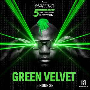 Green Velvet at Exchange LA - 5 hour set