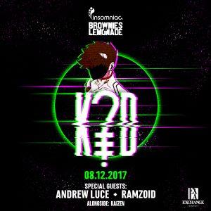 K?D w/ Andrew Luce & Ramzoid at Exchange LA