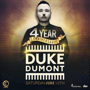 Duke Dumont at Create Nightclub