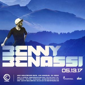 Benny Benassi at Create Nightclub