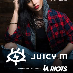 Juciy M with LA Riots at Create Nightclub