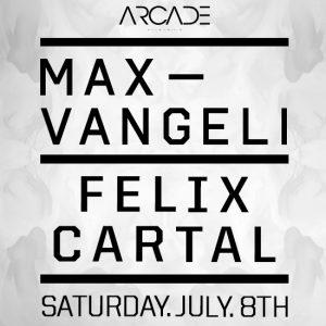 Max Vangeli and Felix Cartal at Create Nightclub