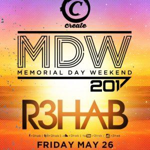 R3hab at Create Nightclub